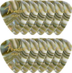 Fender Shape Premium Picks Abalone 12 Pack