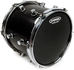"Evans Resonant 15"" Schwarz Resonanzfell"