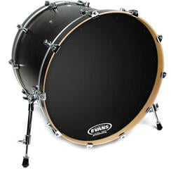 Evans 22'' EQ1 Resonant Black