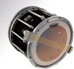Evans 13'' MS3 Marching Snare Side Clear