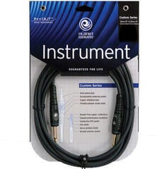 D'Addario Planet Waves G Instrument Cable Fekete/Egyenes - Egyenes