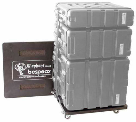 Bespeco RMTROLLY Wooden Trolley for Rack Flight Cases