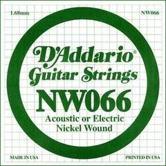 D'Addario Single XL Nickel Wound 066