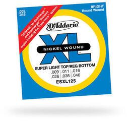 D'Addario ESXL 125 Steinberger Nickel Round Wound