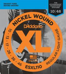 D'Addario ESXL 110 Steinberger Nickel Round Wound