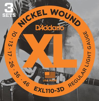 D'Addario EXL 110 3 D
