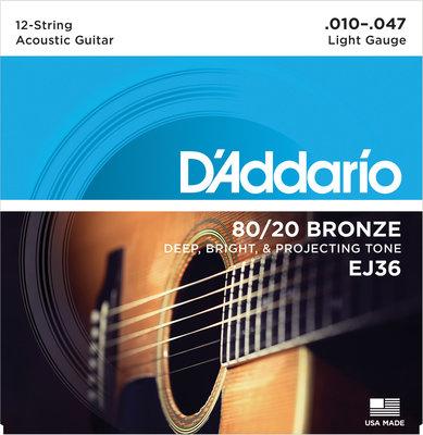 D'Addario EJ 36