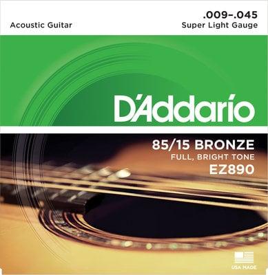 D'Addario EZ-890 Super Light