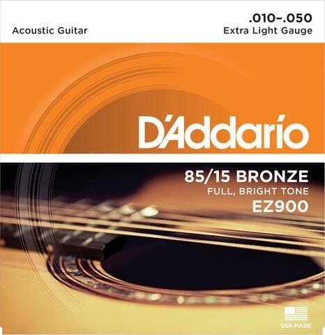 D'Addario EZ-900 Great American Bronze Wound Extra Light