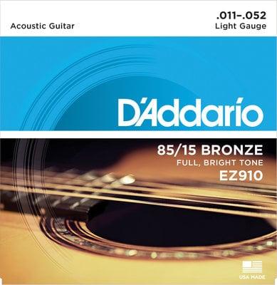 D'Addario EZ-910 Great American Bronze Wound