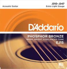 D'Addario EJ15 Corzi chitare acustice