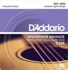 D'Addario EJ26 Corzi chitare acustice