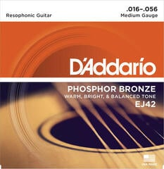 D'Addario EJ-42 Resonator Strings