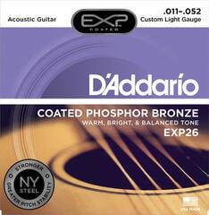 D'Addario EXP26 Corzi chitare acustice