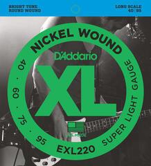 D'Addario EXL 220