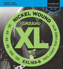 D'Addario EXL 165 6