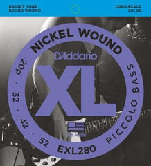 D'Addario EXL 280 Nickel Wound Picollo Bass Strings