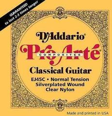 D'Addario EJ45-C ProArte Laser Selected Nylon Trebles Normal
