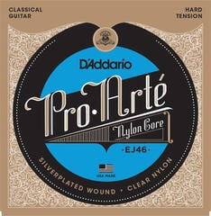D'Addario EJ46 ProArte Laser Selected Nylon Trebles Hard