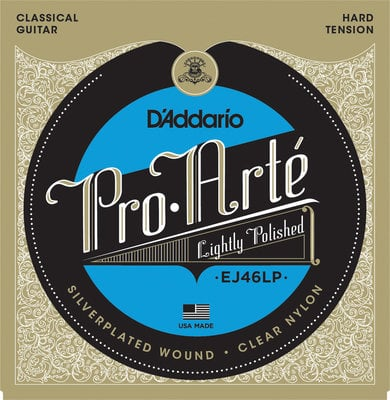 D'Addario EJ46-LP ProArte Laser Selected Nylon Trebles Hard