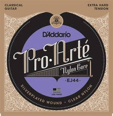 D'Addario EJ44 ProArte Laser Selected Nylon Trebles Extra Hard