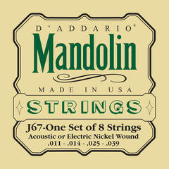 D'Addario J67 Mandolin Strings