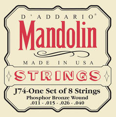 D'Addario J74 Mandolin Strings
