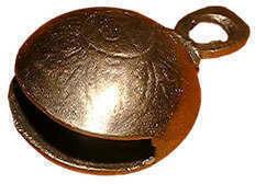 Terre Bell middleage brass 20mm