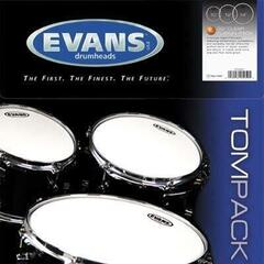 Evans EC2 Coated Tom Pack-Rock (10'', 12'', 16'')