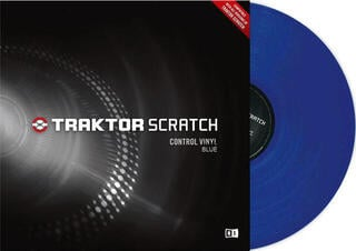 Native Instruments Traktor Scratch Pro Control Vinyl Blue