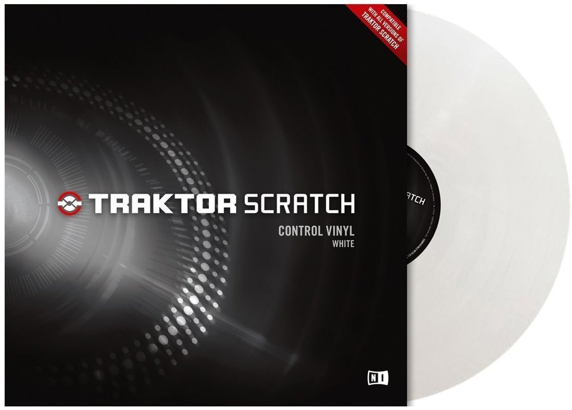 Native Instruments Traktor Scratch Pro Control Vinyl Clear MKII Miss Sixty