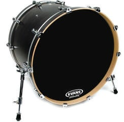 Evans 22'' EQ3 Resonant Black NO PORT
