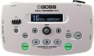 Boss VE 5 Vocal Processor White