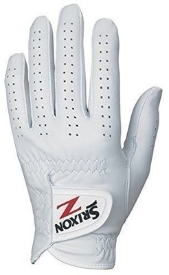 Srixon Premium Cabretta Womens Golf Glove White Right Hand for Left Handed Golfers L