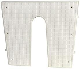 Osculati Stern protection plate white 420 x 340 mm