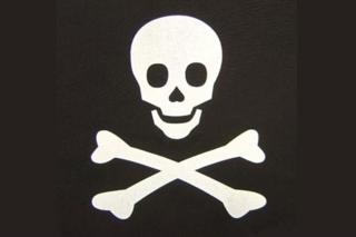 Sailor Piraten-Flagge 30 x 45 cm