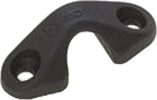 Viadana Top Fairlead for Cam Cleat 25.30-25.32 Black