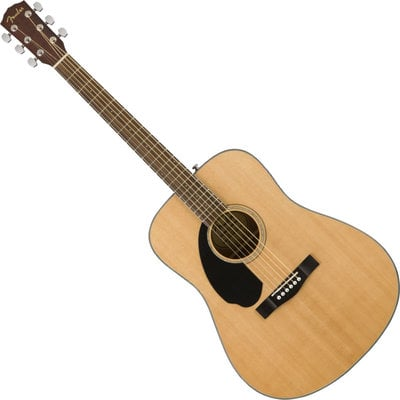 Fender CD-60S Dreadnought WN Natural LH