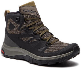 Salomon Outline Mid GTX Black/Beluga/Capers