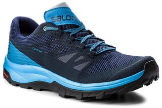 Salomon Outline GTX Navy Blaze/Indigo Bun