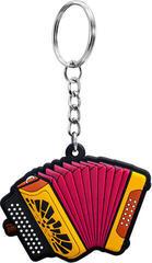 Musician Designer Music Key Chain Diatonic Button Accordion