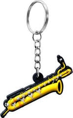 Musician Designer Music Key Chain Baritone Saxophone