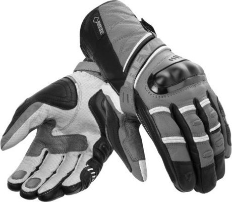 Rev'it! Gloves Dominator GTX Light Grey-Anthracite XL