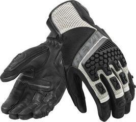 Rev'it! Gloves Sand 3 Crna/Srebrna
