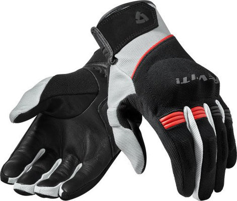 Rev'it! Gloves Mosca Black-Red XL