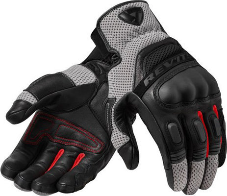 Rev'it! Gloves Dirt 3 Black-Red S