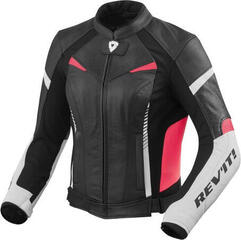 Rev'it! Jacket Xena 2 Ladies White-Fuchsia Lady 38