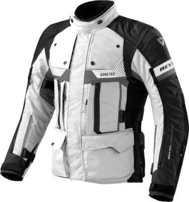 Rev'it! Jacket Defender Pro GTX Grey-Black XL