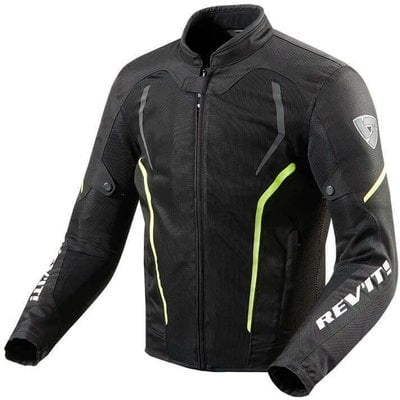 Rev'it! Jacket GT-R Air 2 Black-Neon Yellow M