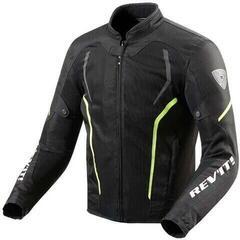 Rev'it! Jacket GT-R Air 2 Black/Neon Yellow